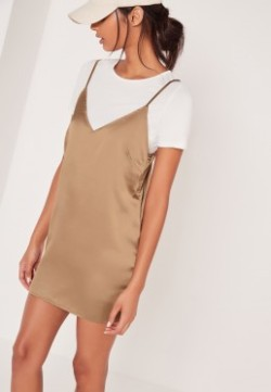 Gold 2 in 1 Dress Missguided