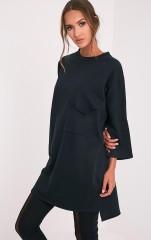 basic-plt-side-split-sweater-dress