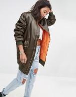 boohoo-longline-bomber-jacket-satin