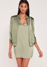 carli-bybel-satin-green-jacket