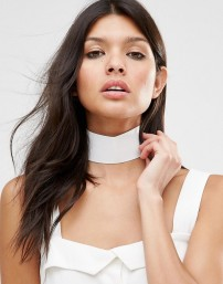 choker-missguided-thick-white