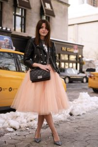 edgy-leather-jacket-and-tulle-skirt